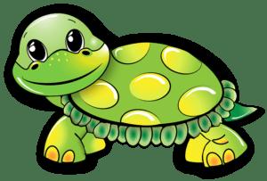 Dětské básničky: Leze želva po písku (z rubriky Básničky o zvířátkách, Zhudebněné básničky)