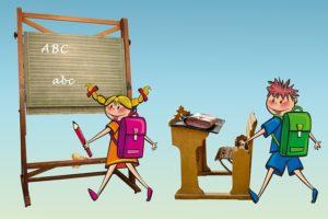 Dětské básničky: Je tu konec letních prázdnin (z rubrik Básničky o škole, Básničky o létu)