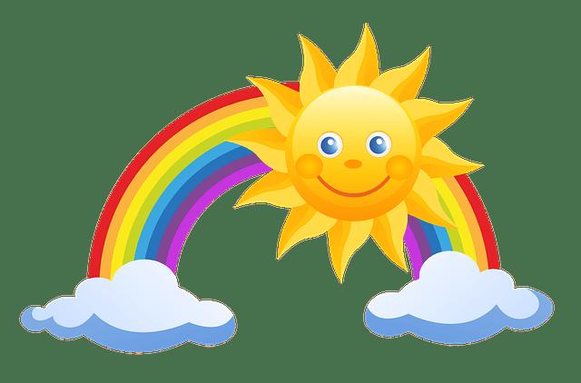 Dětské básničky: Co vidí Sluníčko z oblohy I. (z rubriky Pohádky a povídky)
