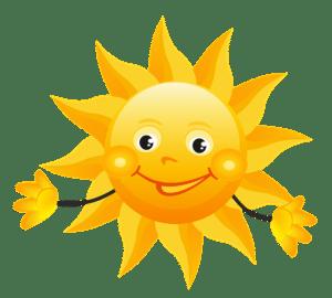 Dětské básničky: Co vidí Sluníčko z oblohy V. (z rubriky Pohádky a povídky)